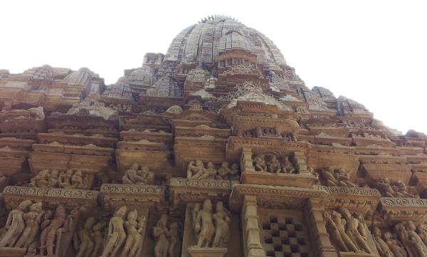 Khazuraho Temple frontage
